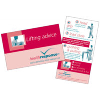 Lifting Advice Jogger Cards