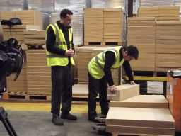 Filming a customised Manual Handling training video