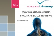 OFI Moving and Handling sample Course Notes front cover