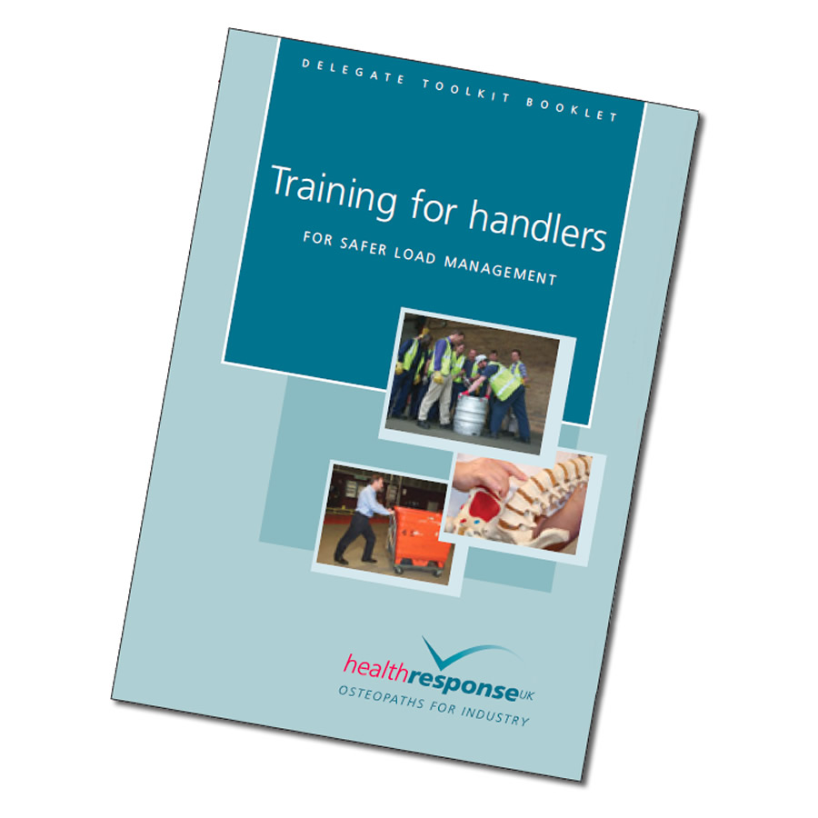 Training For Manual Handlers - Toolkit Booklet