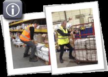 People performing lifting and handling tasks