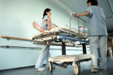 Nurses Moving Patient