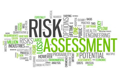 Risk Assessment word cloud